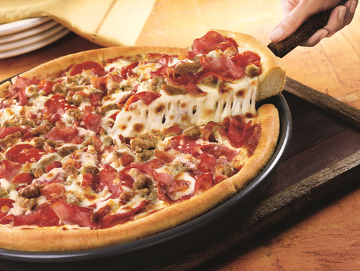 Pizza Hut is ringing in the New Year with the $10 Any pizza deal – that's any size, any crust and any toppings for just $10.
