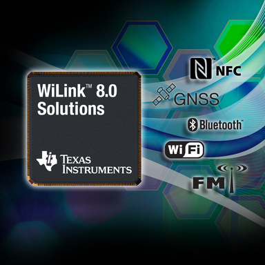 TI's new WiLink™ 8.0 family: World's first 5-in-1 wireless connectivity solutions, set to lead next-generation mobile experiences