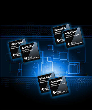 TI's six new KeyStore multicore SoCs offering greater performance, more capabilities and lower power