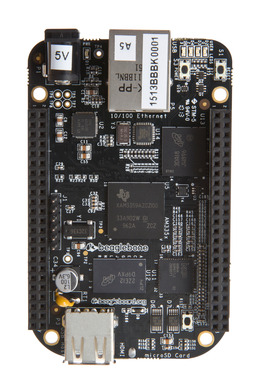 BeagleBone Black is a credit-card-sized, Linux computer