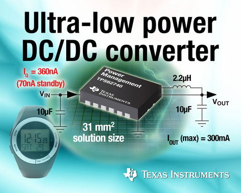 Ultra-low power DC/DC converter