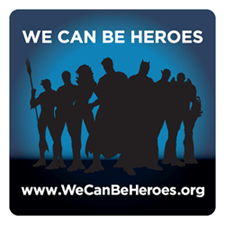 We Can Be Heroes logo