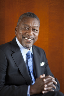 Robert L. Johnson, founder & chairman, The RLJ Companies and founder of OppsPlace (5x7 - photo credit Melissa Golden)