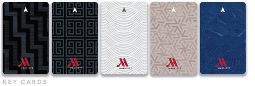 On property elements of the campaign, including key cards, will embrace the brand's new visual look, featuring a series of topographical maps and travel-inspired patterns