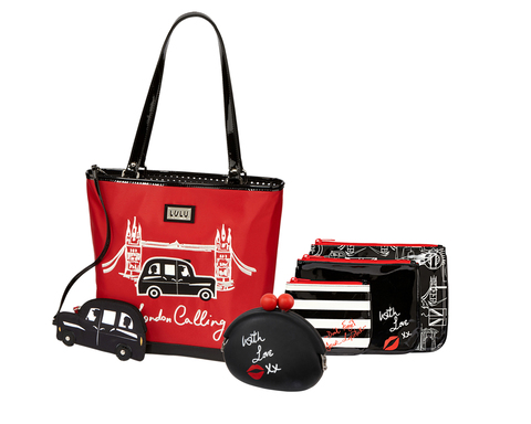 LULU by Lulu Guinness is available exclusively at jcpenney this holiday season. The collection ranges in price from $8 to $65 and includes handbags and fashion accessories to brighten any look.