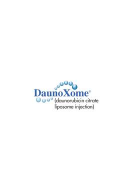 DaunoXome® (daunorubicin citrate liposome injection) logo