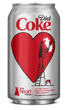 Diet Coke® and The Heart Truth® Limited-Edition Can