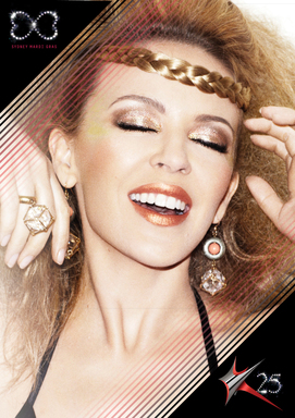 Kylie Minogue coming to Sydney Mardi Gras for the start of her celebrations of 25 years in music.