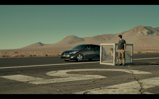 ''Cheetah,'' a 30-second Hyundai Super Bowl spot slated for the first quarter, finds out what happens when you race a cheetah against the all-new Veloster Turbo.
