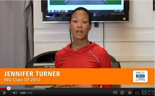 "ING Runner's Nation, an online community for runners, features videos offering quick tips and facts aimed at training, informing and inspiring marathoner runners. Television exec. and ""fitness activator"" Jennifer Turner serves as a host of the program."