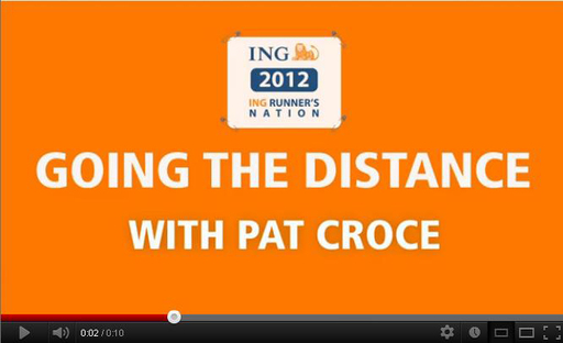 Online community, ING Runner's Nation, features videos offering quick tips and facts aimed at training, informing and inspiring marathoners. Fitness trainer, entrepreneur and motivational speaker Pat Croce provides inspiration to the runners.