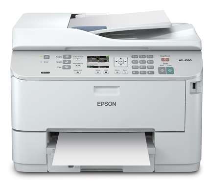 The Epson WorkForce Pro WP-4590 multifunction printer offers a range of features and supports Printer Control Language and Postscript, all for a low total cost of ownership.