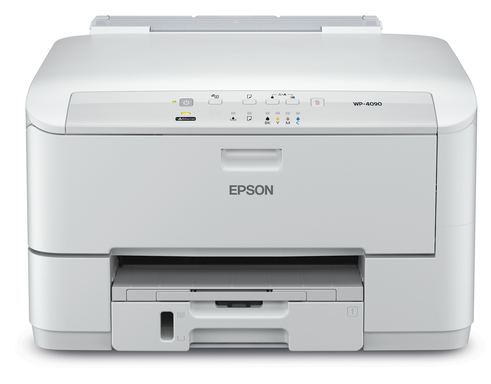 The Epson WorkForce Pro WP-4090 single-function printer offers fast print speeds, high quality output and low total cost of ownership, perfect for small- to medium-sized offices.