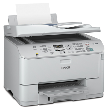 The Epson WorkForce Pro WP-4533 multifunction printer's high productivity features, reliable performance and low total cost of ownership, make it ideal for small to medium offices.