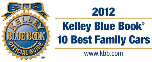 Kelley Blue Book's kbb.com announces its 10 Best Family Cars of 2012.