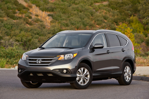 The 2012 Honda CR-V was named one of the 10 Best Family Cars of 2012 by Kelley Blue Book's kbb.com.