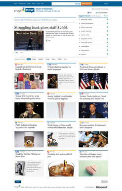 Check out msnNOW to be in the know on the hottest conversations and trending topics.