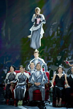 CIRQUE DU SOLEIL® PRESENTS EXCLUSIVE PERFORMANCE AT THE 84TH ACADEMY AWARDS® (Photo credit: ©A.M.P.A.S.)