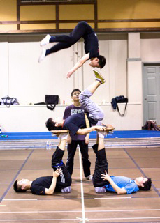 CIRQUE DU SOLEIL® REHEARSES FOR EXCLUSIVE PERFORMANCE AT THE 84TH ACADEMY AWARDS® (Photo credit: Mark Fellman)