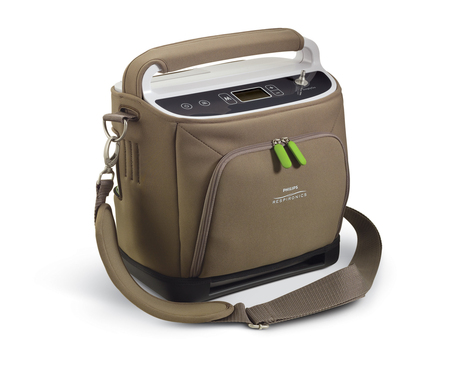 SimplyGo is the only portable oxygen concentrator to offer continuous flow (up to 2 liters per minute) and pulse-dose delivery in a single device weighing 10 pounds or less.