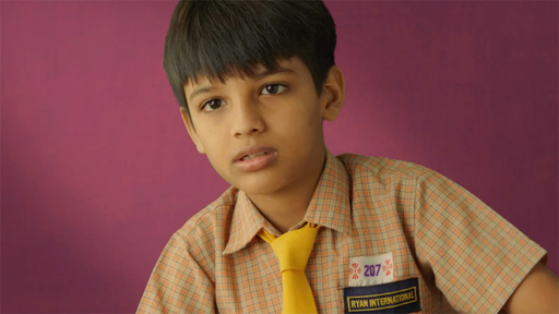 Siddesh, one of the children featured in the documentary One Day
