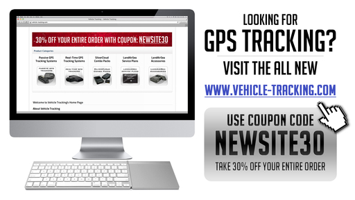 Special Coupon Code for 30% off at Vehicle-Tracking.com: NEWSITE30