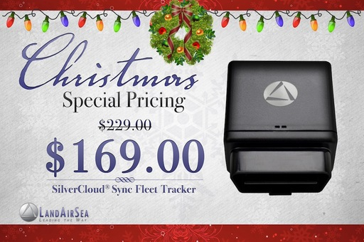Special Christmas Pricing on SilverCloud Sync Fleet Tracker