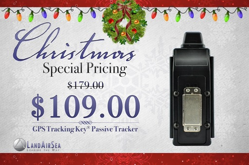 Special Christmas Pricing on GPS Tracking Key