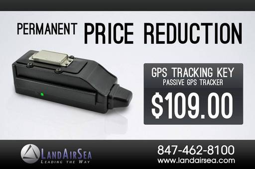 Permanent Price Reduction on GPS Tracking Key