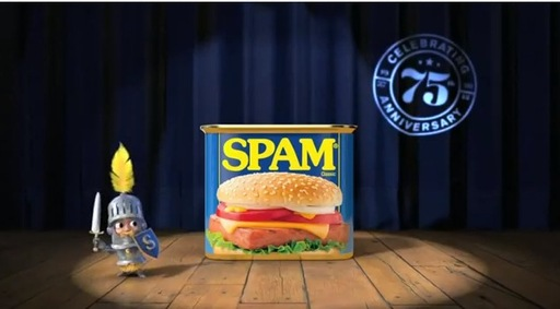 INTRODUCING SPAM® SPOKESCHARACTER, SIR CAN-A-LOT™