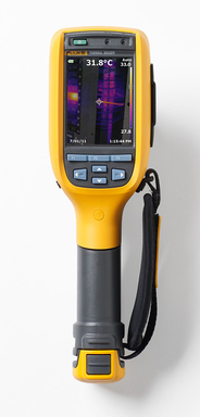 Fluke Ti100, Ti/TiR125, Ti/TiR110 are the lightest, most rugged and easiest to use professional thermal imagers.