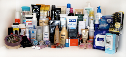 Pictured here are some of the products Daily Glow Judges chose as most innovative beauty solutions available in 2012
