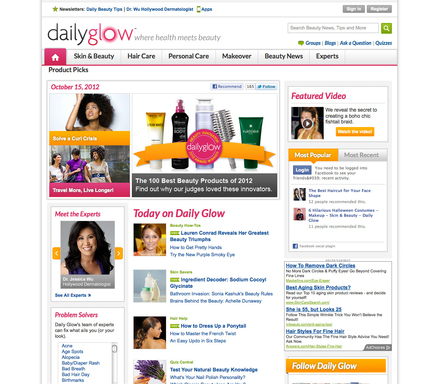 Daily Glow, a leading healthy  beauty authority, announces its second-annual  Daily Glow Awards for the most innovative beauty solutions at DailyGlow.com/Awards