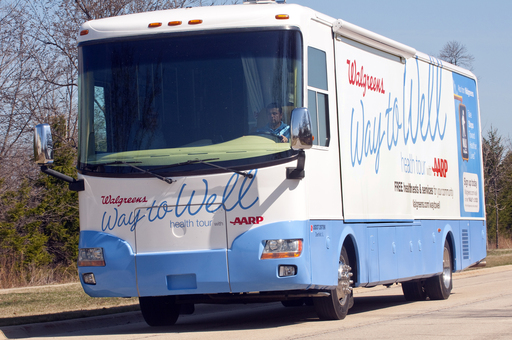 The Walgreens Way to Well Health Tour with AARP is traveling the nation delivering free health tests, assessments and consultations to underserved communities.