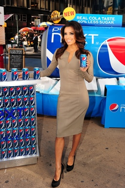 Eva Longoria Launches New Pepsi NEXT