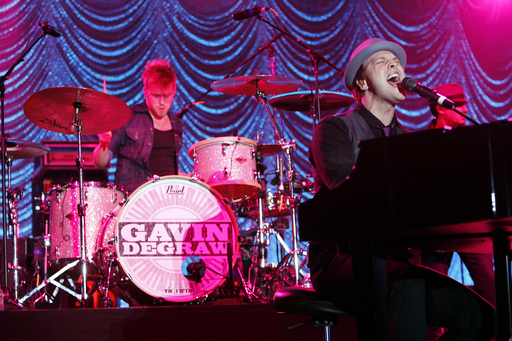 Gavin DeGraw performs at The Escape To Total Rewards at Woldenberg Park on March 1, 2012 in New Orleans, Louisiana. (Photo by Skip Bolen/Getty Images for Caesars Entertainment)