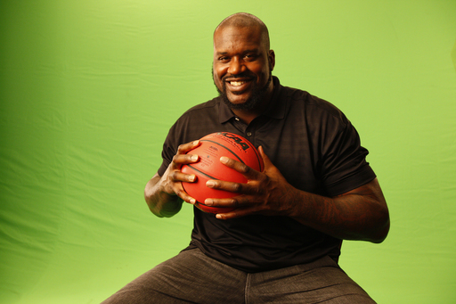 "A light hearted Shaquille O'Neal shares fond memories from basketball to fatherhood from his personal ""Journey to Comfort"" during the Dove Men+Care commercial shoot."