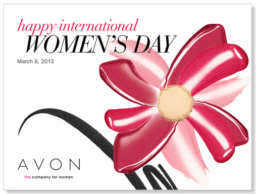 Avon wishes all women and men around the world a Happy International Women's Day 2012!
