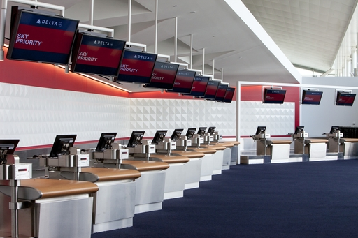 Delta Sky Priority Check-in at the New JFK Terminal 4