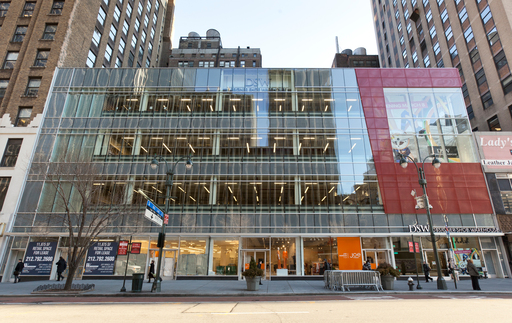 The newest DSW store on 34th Street in New York City opened for business on March 8, 2012.