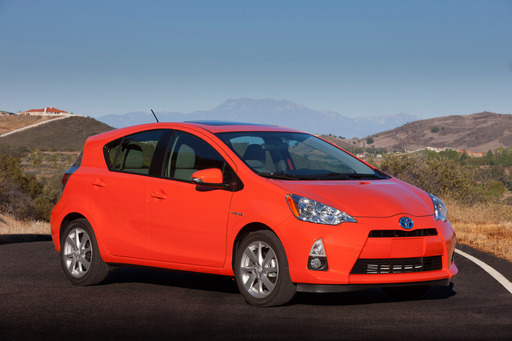 The Toyota Prius c is No. 1 on Kelley Blue Book's kbb.com list of the 10 Best Green Cars of 2012.