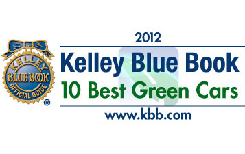 Kelley Blue Book's kbb.com announces the 10 Best Green Cars of 2012.