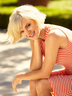 Anna Faris, star of the upcoming film, The Dictator