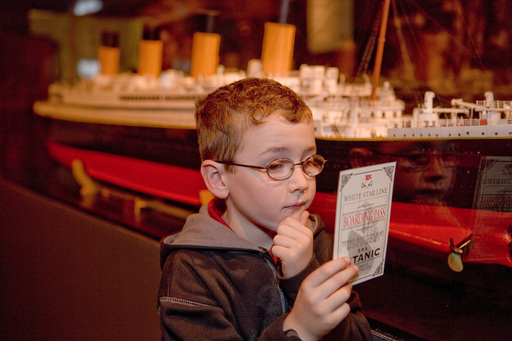 A child explores the legacy of Titanic 100 years after the ship's sinking