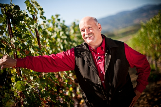 Jim Collins, Chief Viticulturist for Frei Brothers Reserve