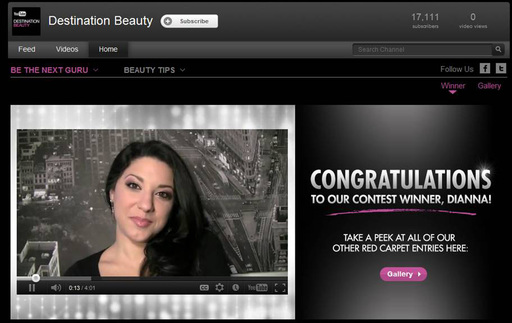 Destination Beauty Screen Grab