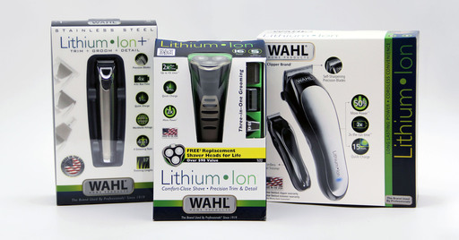 Wahl Lithium Ion Holiday Lineup - Stainless Steal Trimmer, Shaver and Clipper