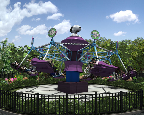 Planet Snoopy 2013 Ride