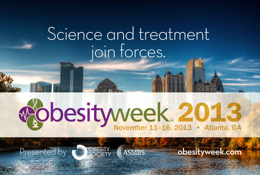 ObesityWeek takes place Nov. 11-16 in Atlanta, Georgia