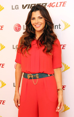 Actress and power parent, Ali Landry, celebrates the launch of LG Viper 4G LTE at Home Studios in New York
